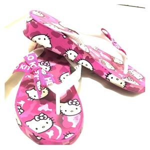 Other - Little Girls Hello Kitty Wedge Sandals